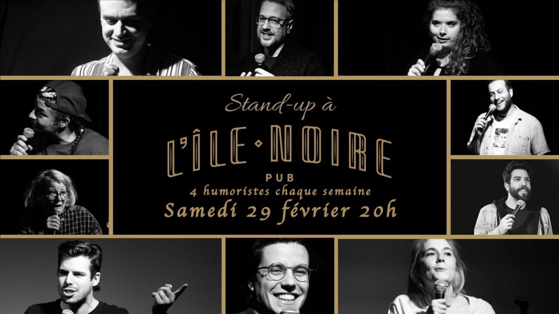 Stand-up À l'île noire! Édition Nuit Blanche!!!!