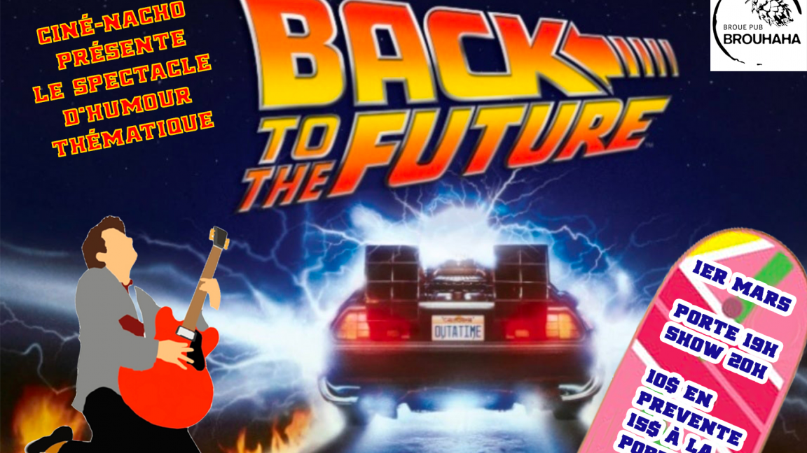 Back to the future: Le show d'humour