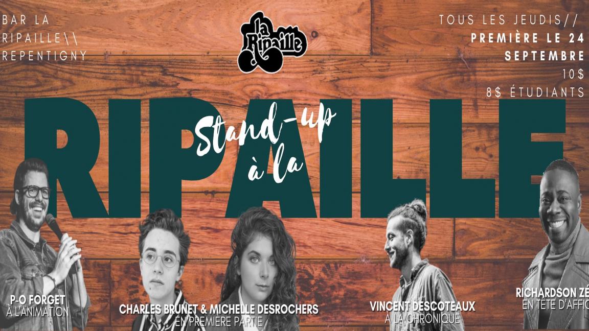 Stand-up à La Ripaille: La grande première!