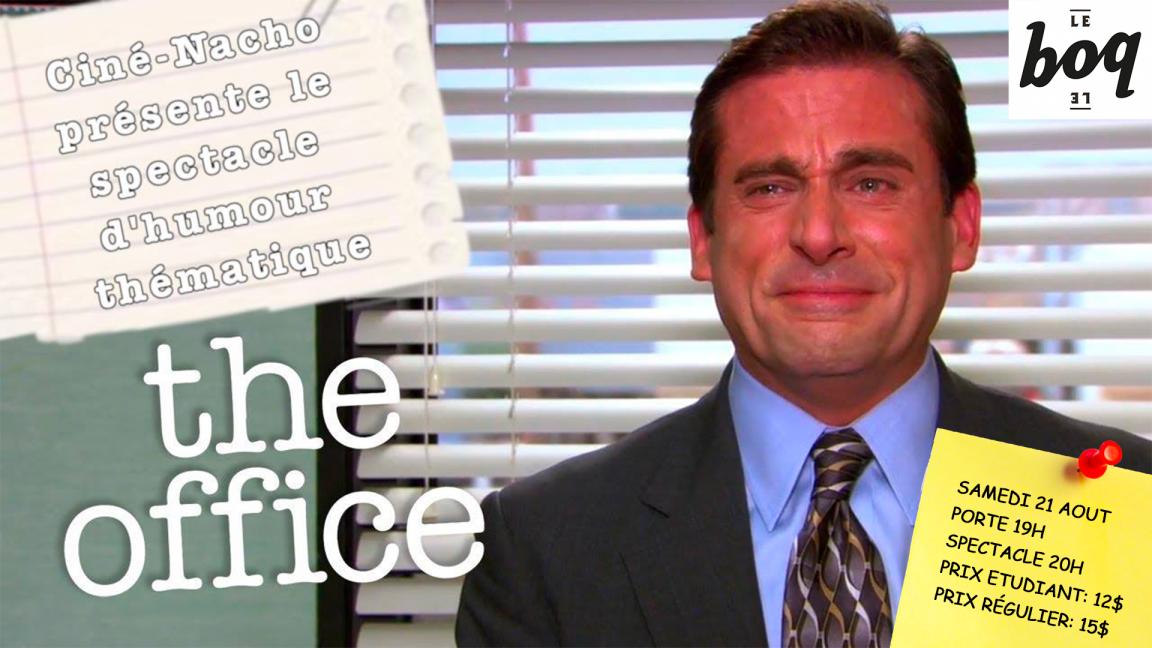 The Office: Le show d'humour à Sherbrooke!