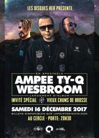 Lancement des albums de Ty-Q - Ampee et Wesbroom X Vieux Chums de Brosse