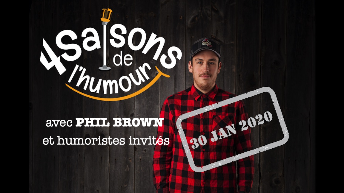 4 Saisons de l'humour JAN