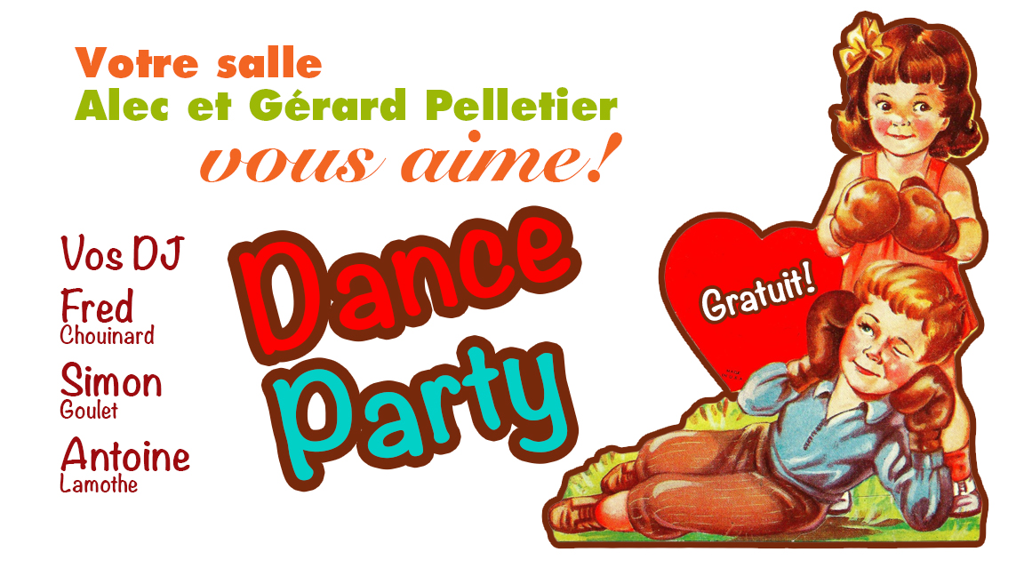 Dance party St-valentin