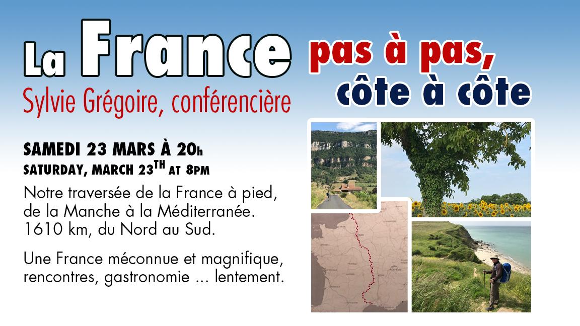 La France, pas à pas, côte à côte