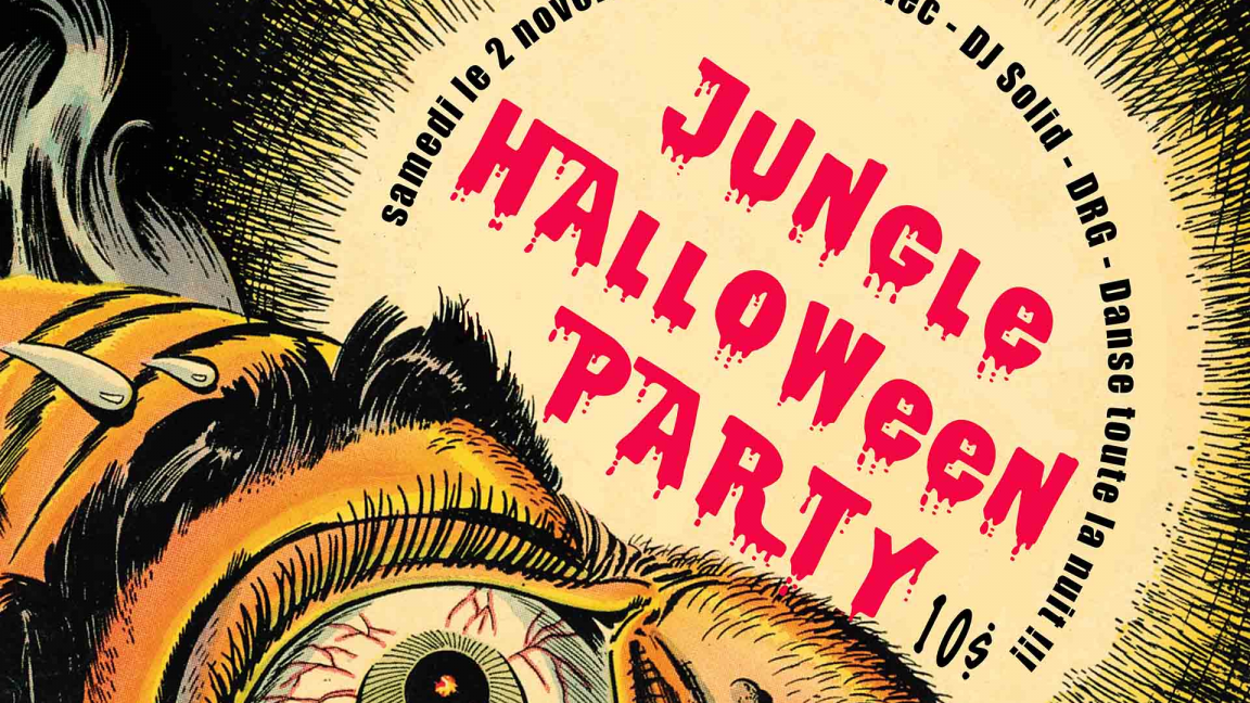 Jungle Halloween Party