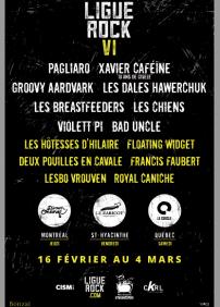 Passe weekend Ligue Rock 6
