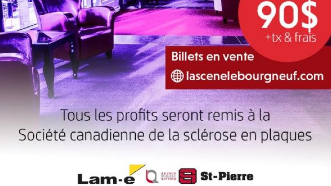 5@8 LOUNGE pour la Société Canadienne de la Sclérose en Plaques