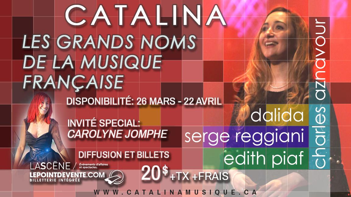 Les grands noms de la musique française