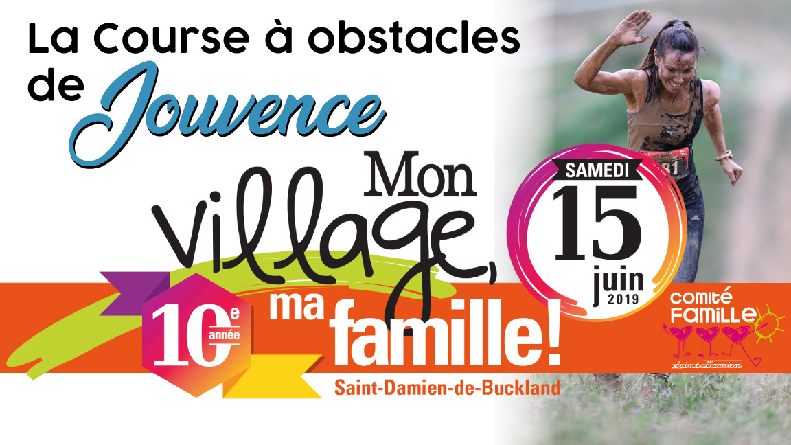 Course à obstacles Jouvence à Saint-Damien
