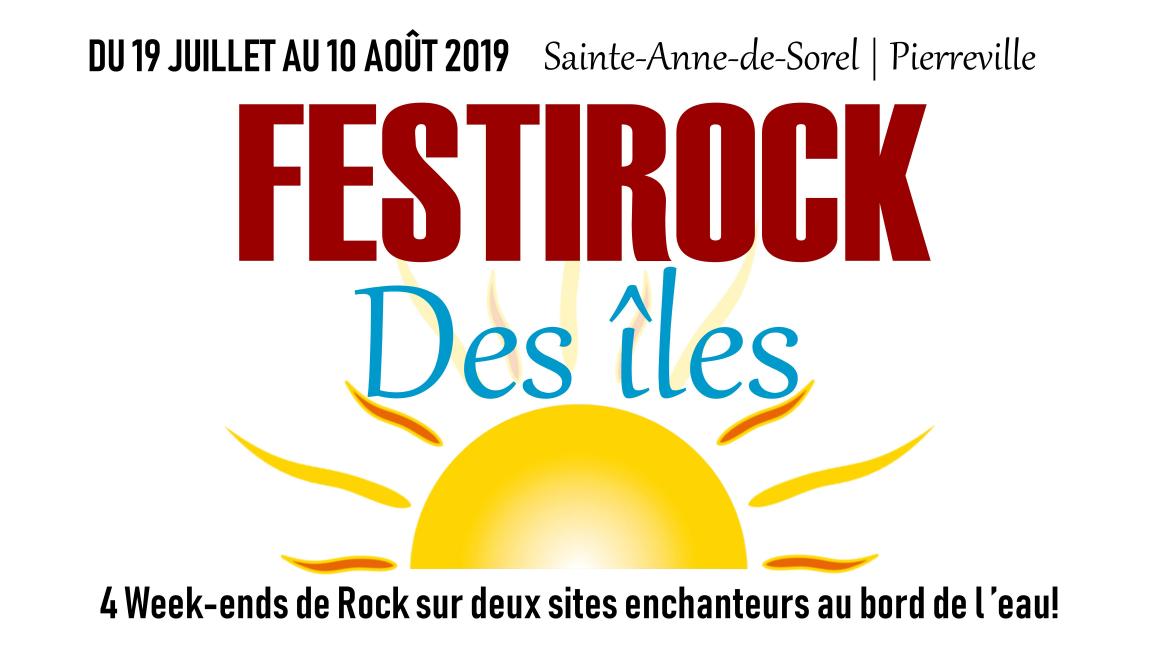 Festirock des îles de Saint-Anne-de-Sorel et Pierreville : RABAIS 2 JOURS