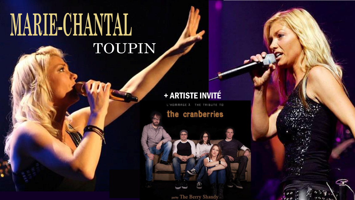 Festirock des îles: Marie-Chantal Toupin Full Band formule Rock | The Berry Shandy hommage à The Cranberries