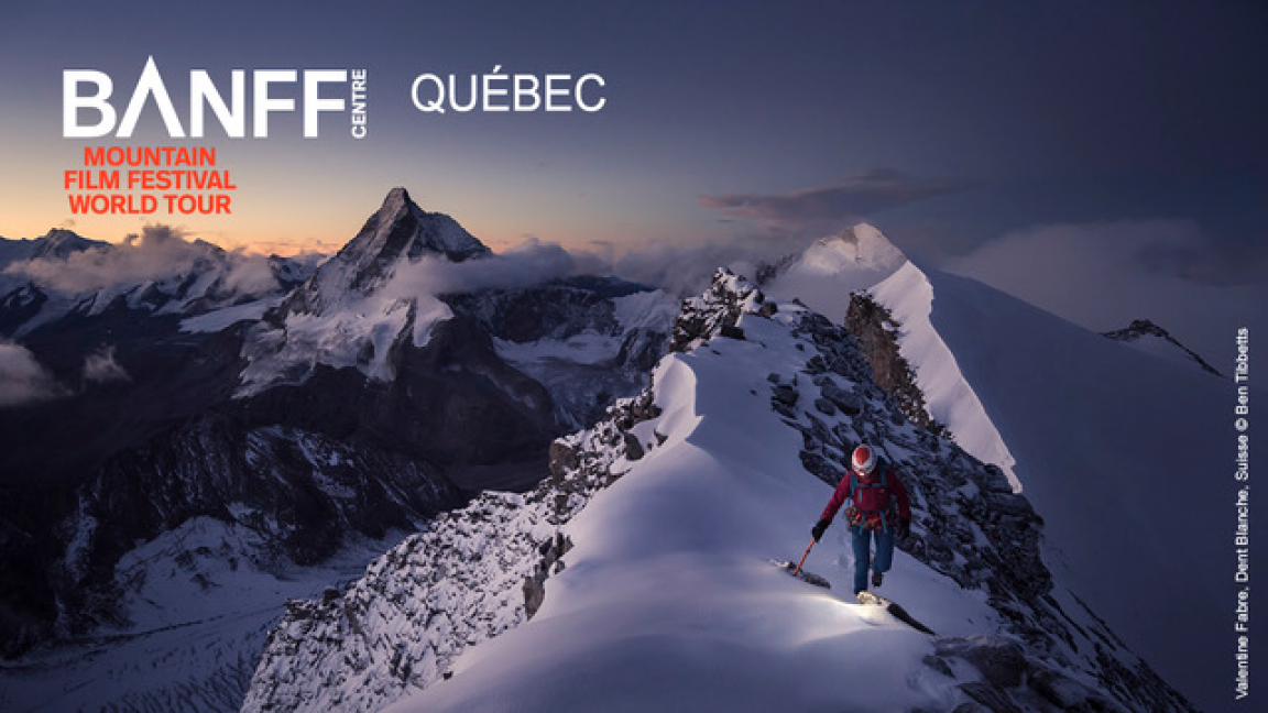 Banff Mountain Film Festival Quebec Tour