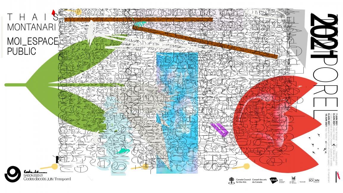 Temporel 2021 | Thais Montanari: Moi_Espace Public
