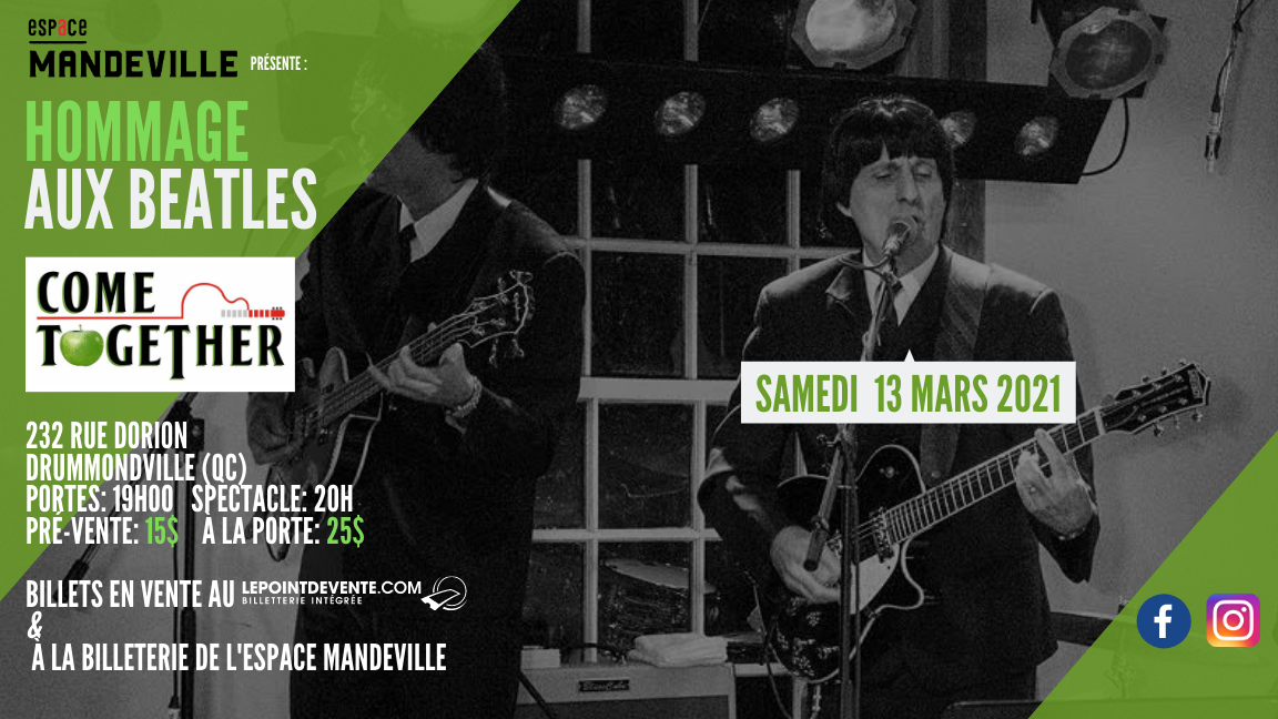 Hommage aux Beatles par Come Together