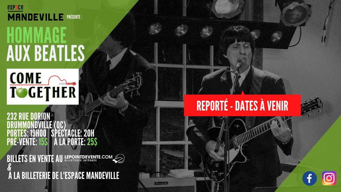 Hommage aux Beatles par Come Together
