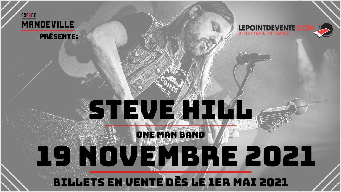 Steve Hill - One man band