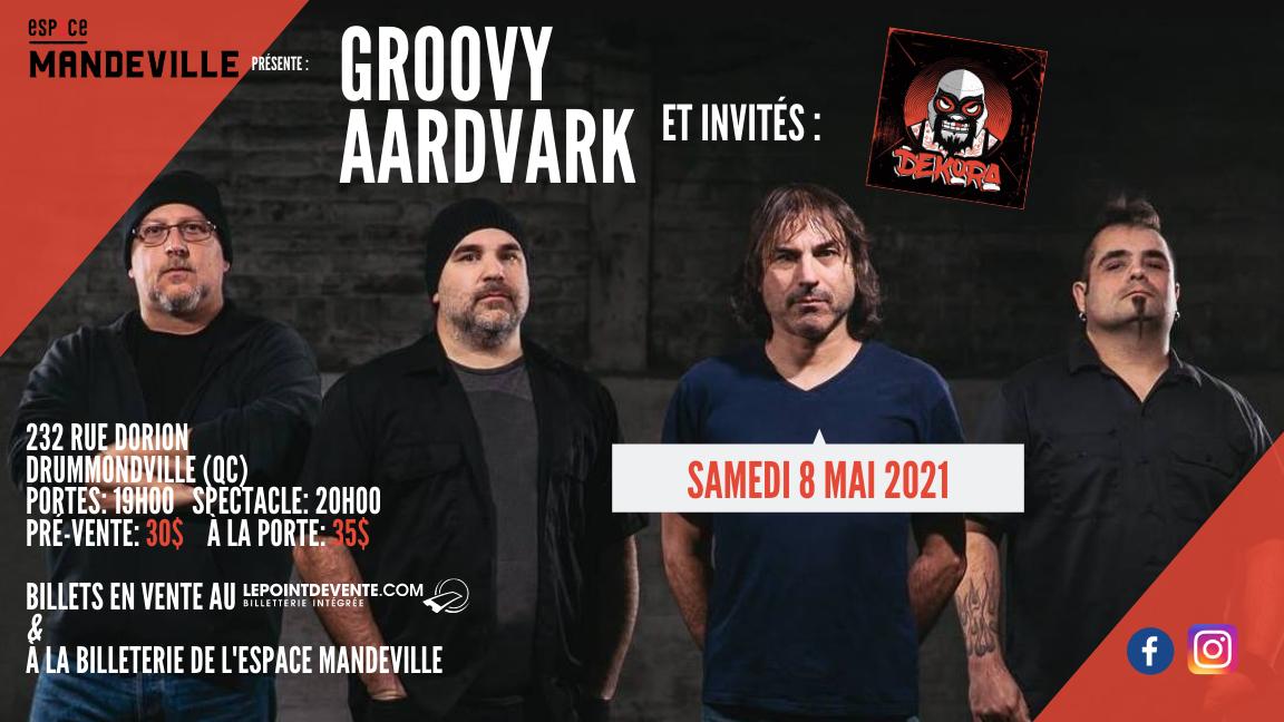 Groovy Aardvark et invités: Dekora
