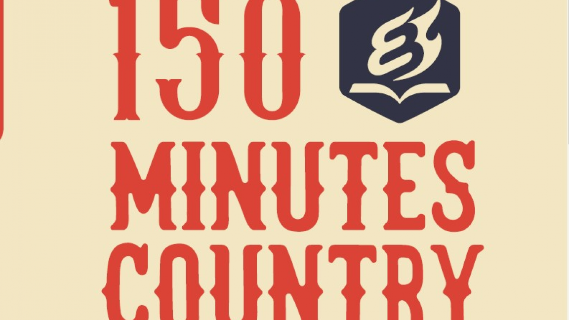 150 minutes country