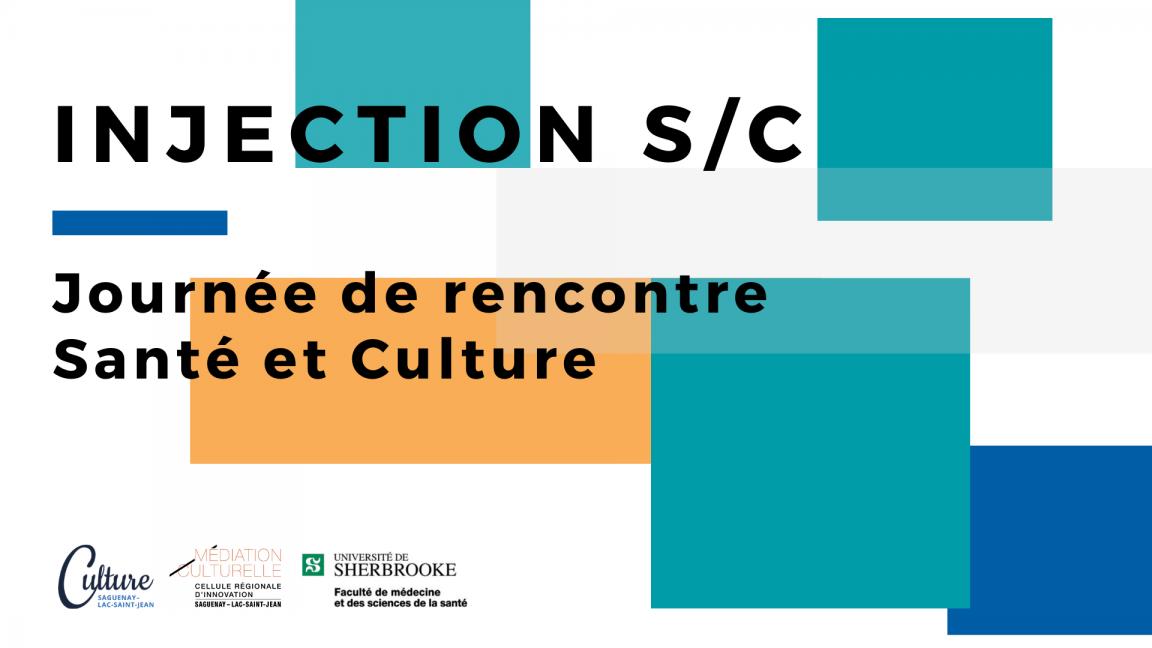 Injection S/C - Journée de rencontre art et santé
