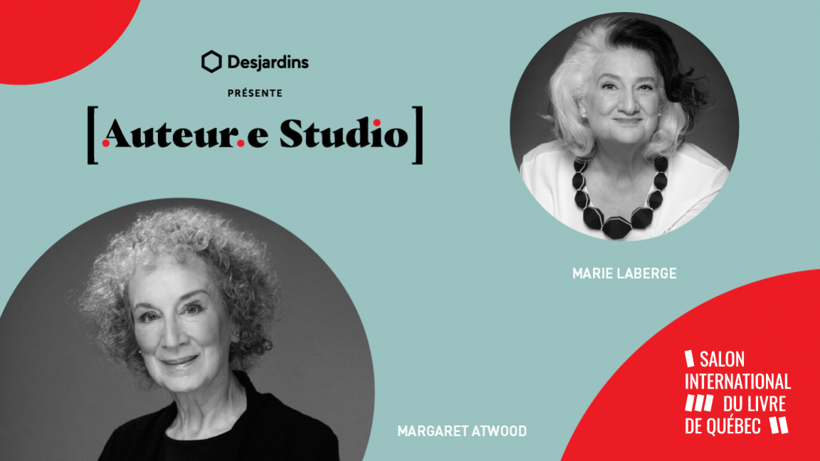 VIRTUEL - Margaret Atwood, une rencontre animée par Marie Laberge