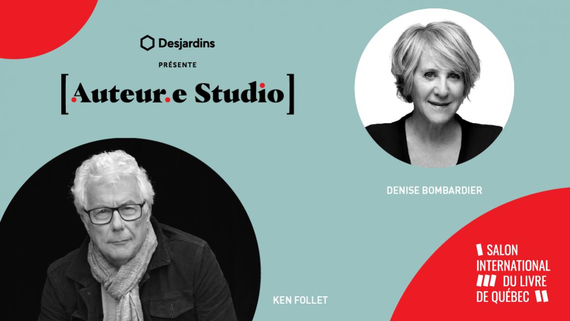 VIRTUEL - Ken Follet, une rencontre animée par Denise Bombardier