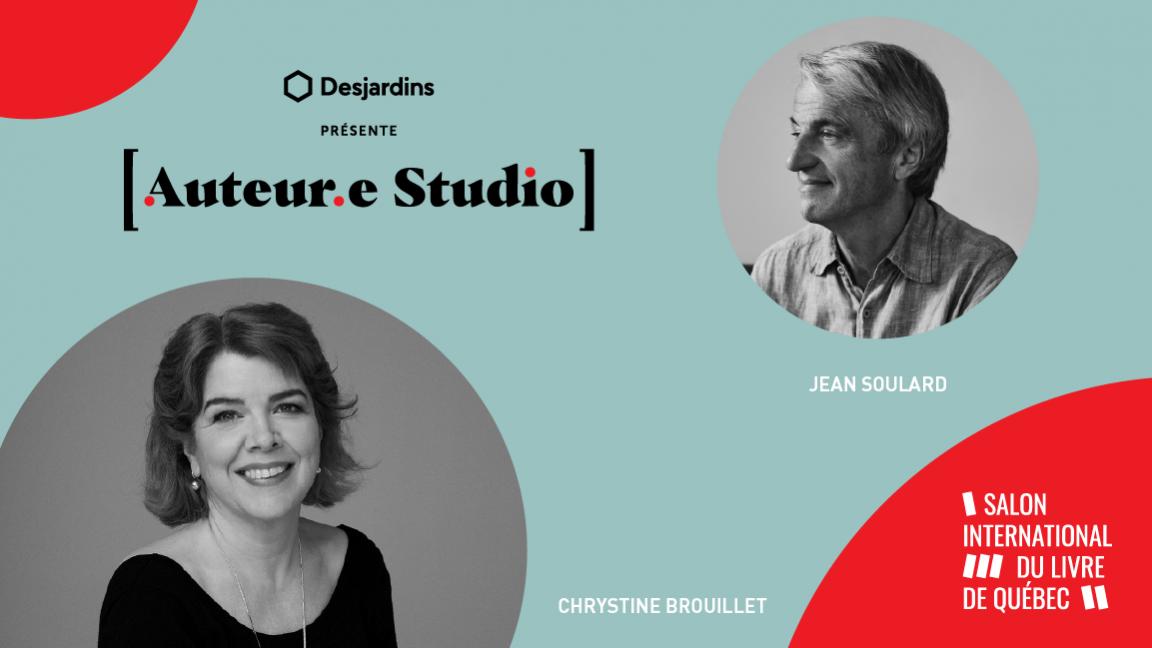 VIRTUEL - Conversation entre Chrystine Brouillet et Jean Soulard