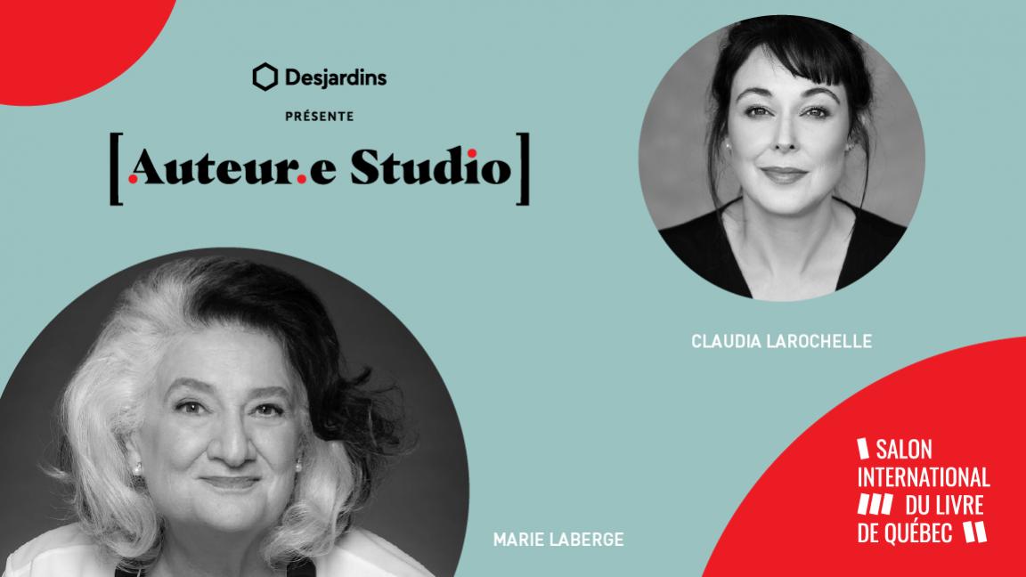 VIRTUEL -  Marie Laberge, une rencontre animée par Claudia Larochelle