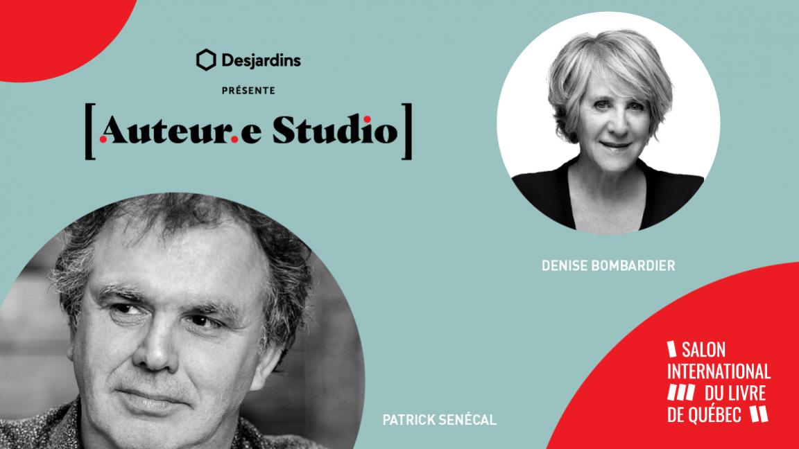VIRTUEL - Patrick Senécal, une rencontre animée par Denise Bombardier