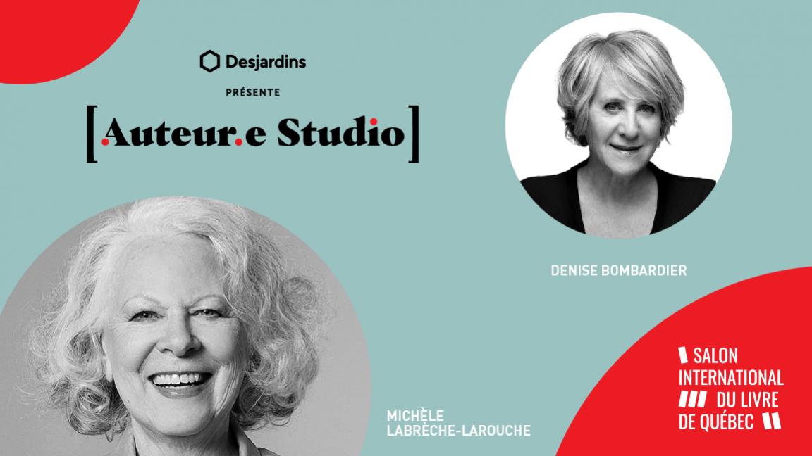 VIRTUEL -  Michèle Labrèche-Larouche, une rencontre animée par Denise Bombardier