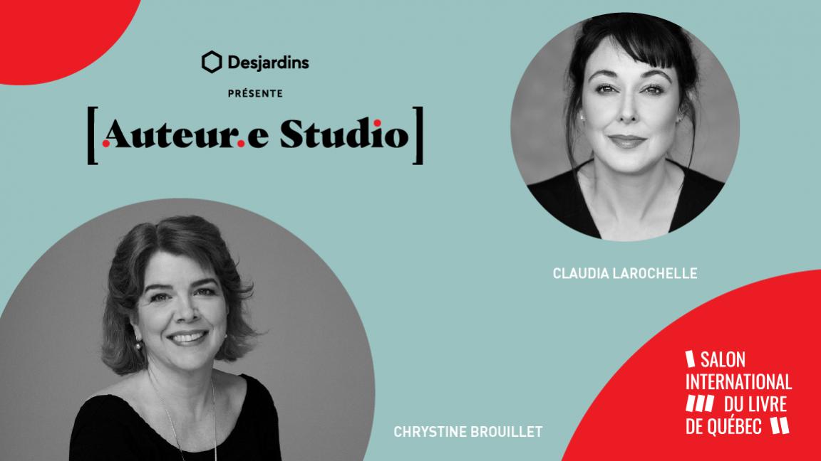 VIRTUEL - Chrystine Brouillet, une rencontre animée par Claudia Larochelle
