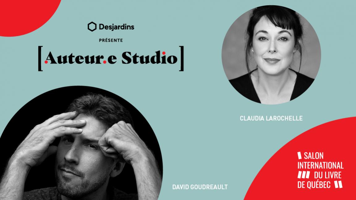 VIRTUEL - David Goudreault, une rencontre animée par Claudia Larochelle