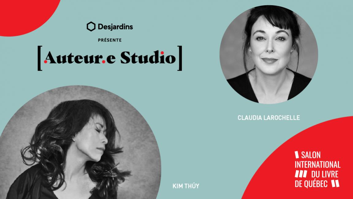 VIRTUEL - Kim Thúy, une rencontre animée par Claudia Larochelle