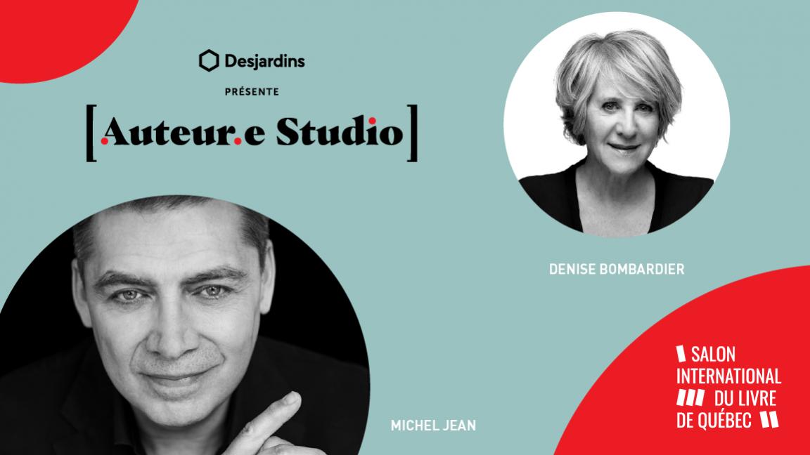 VIRTUEL - Michel Jean, une rencontre animée par Denise Bombardier