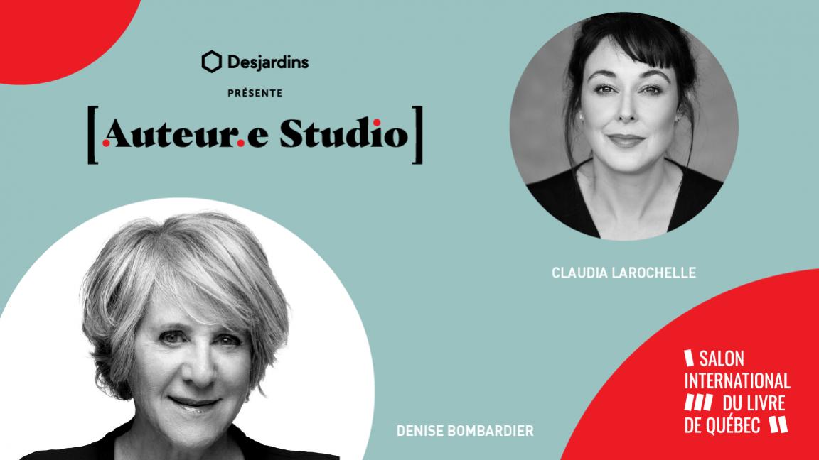 VIRTUEL -  Denise Bombardier, une rencontre animée par Claudia Larochelle