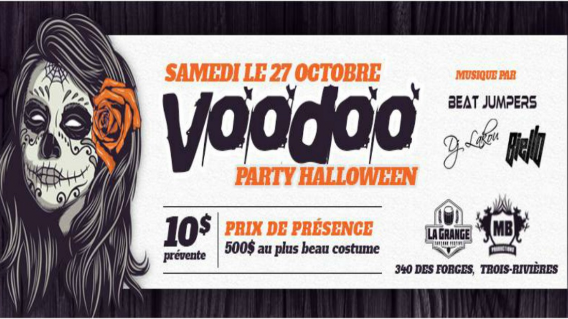 VOODOO - Party d'Halloween