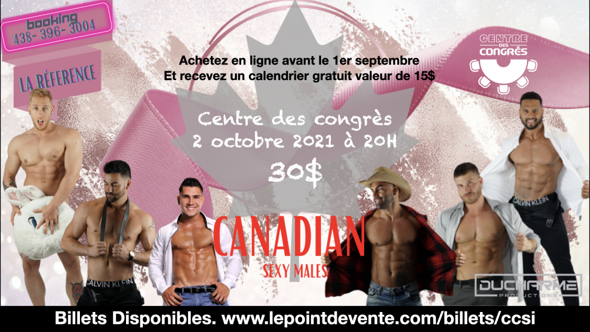 Ladies Night avec les Canadian Sexy Males