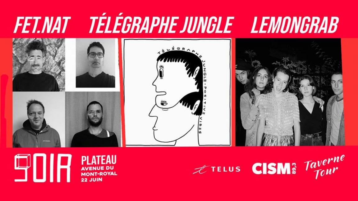FET.NAT - Télégraphe Jungle - Lemongrab