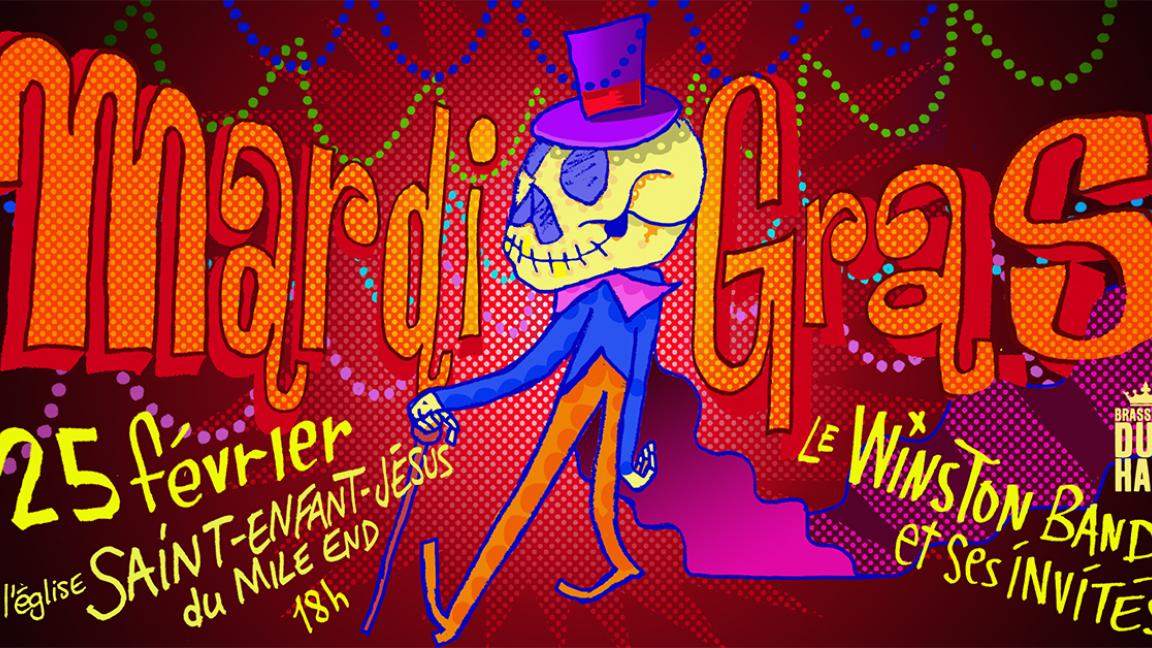 Mardi Gras 2020 - Le Winston Band présente