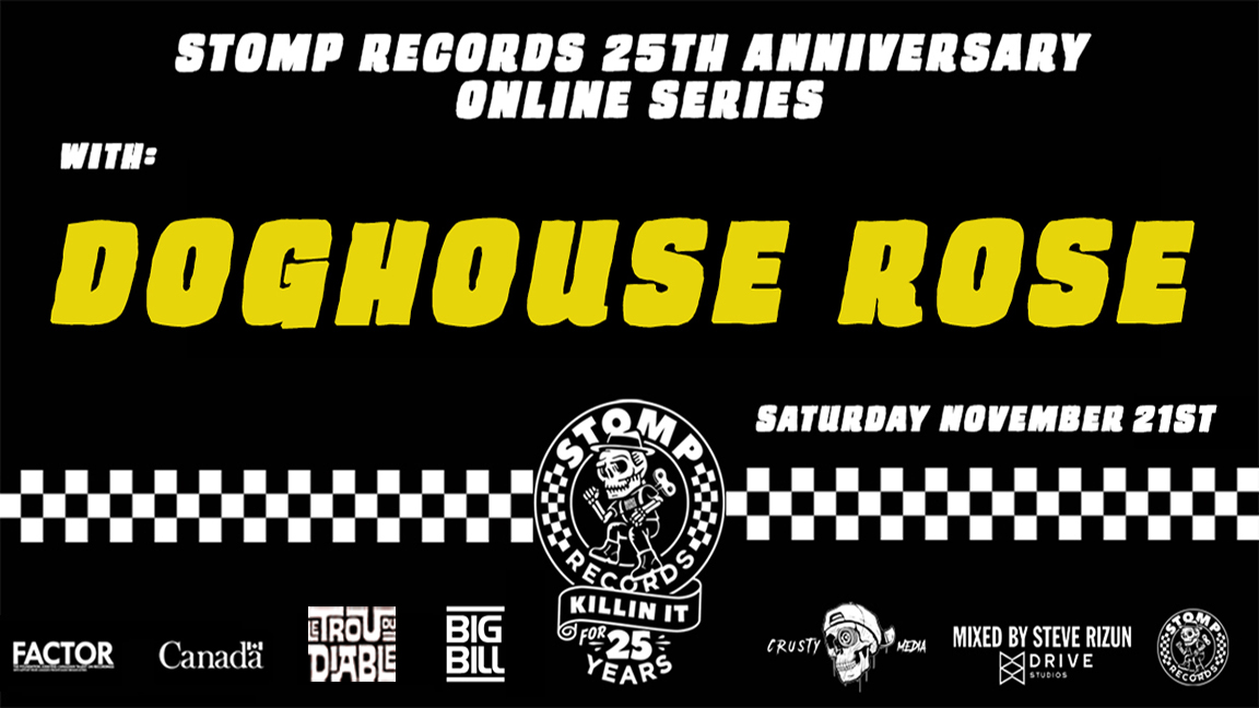 Stomp Records 25th Anniversary Online Series w/ Doghouse Rose