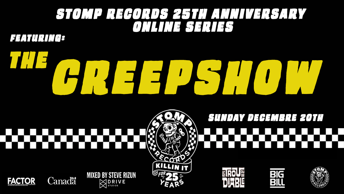 Stomp Records 25th Anniversary Online Series w/ The Creepshow