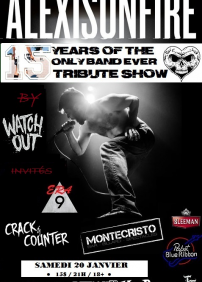 15 YEARS OF ALEXISONFIRE TRIBUTE SHOW