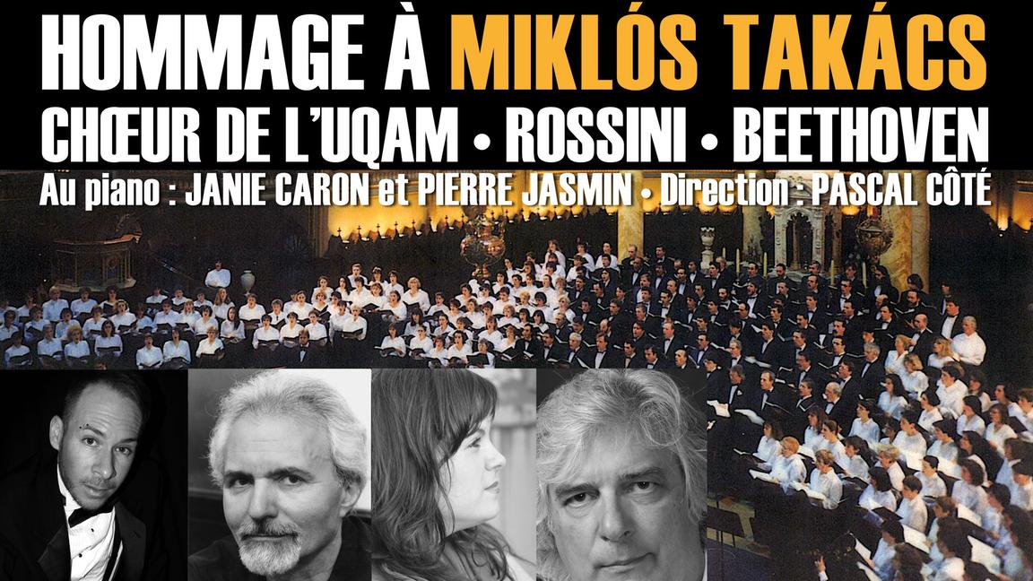 Choeur de l'UQAM - Hommage à Miklós Takács