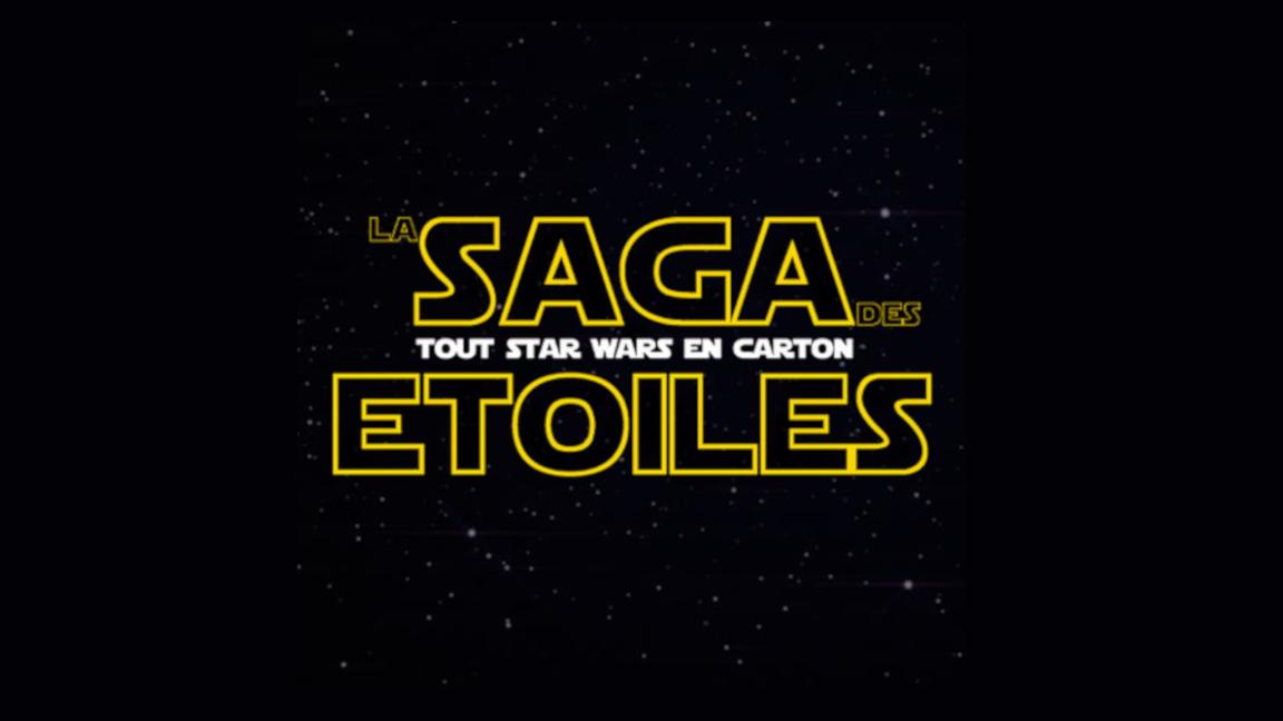 Tout Star Wars en carton