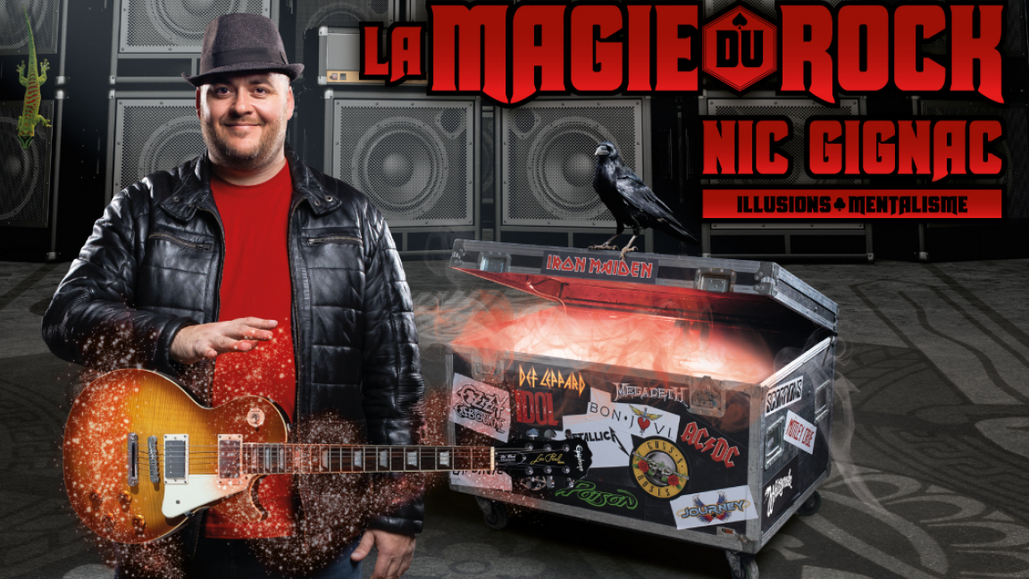 Nic Gignac - La magie du Rock