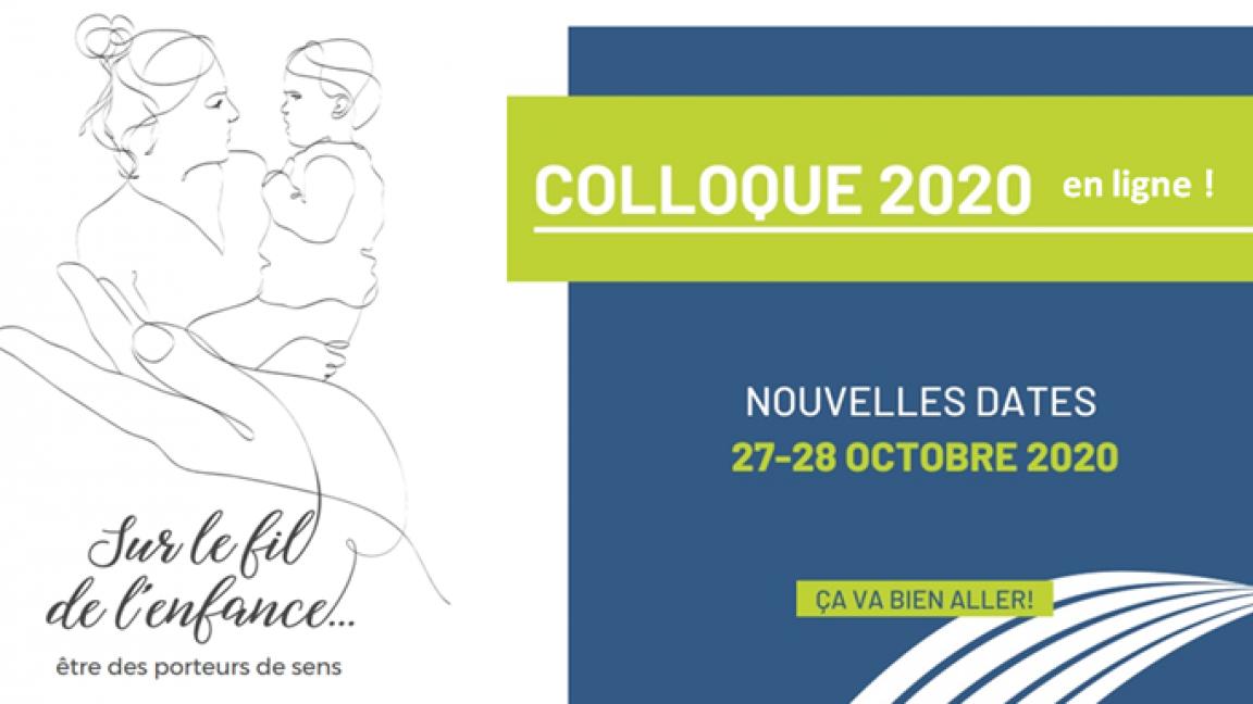 Colloque CASIOPE 2020 : Sur le fil de l'enfance, être des porteurs de sens