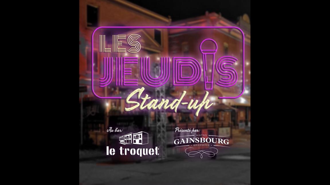 Les jeudis stand-up au bar Le Troquet
