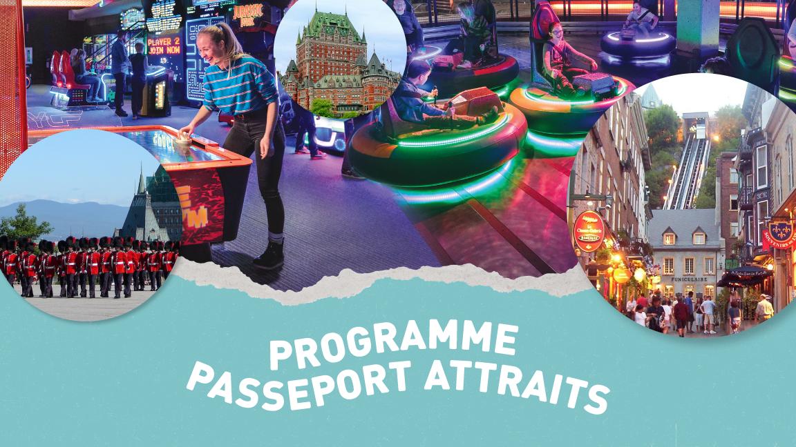 Passeport-attraits : parc d'attractions, forteresse et vie de Château