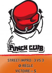 Le Punch Club (Street Impro)