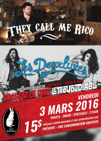 LES DEUXLUXES + THEY CALL ME RICO