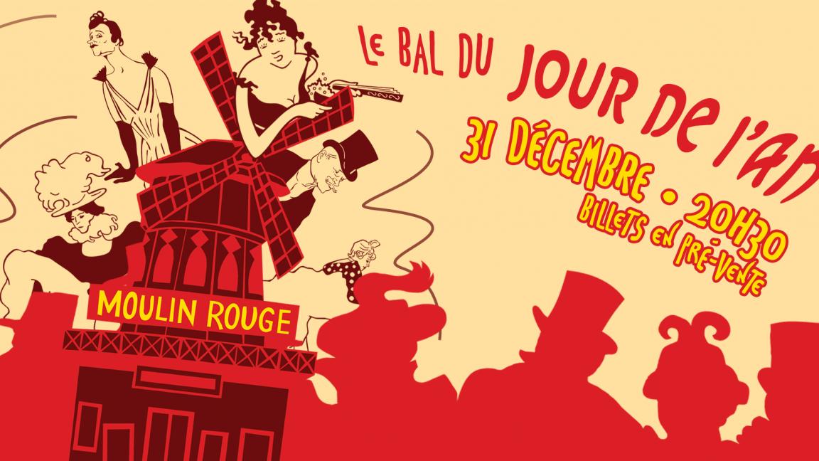 Party du Jour de l'An 2019 au Café Campus - Moulin Rouge